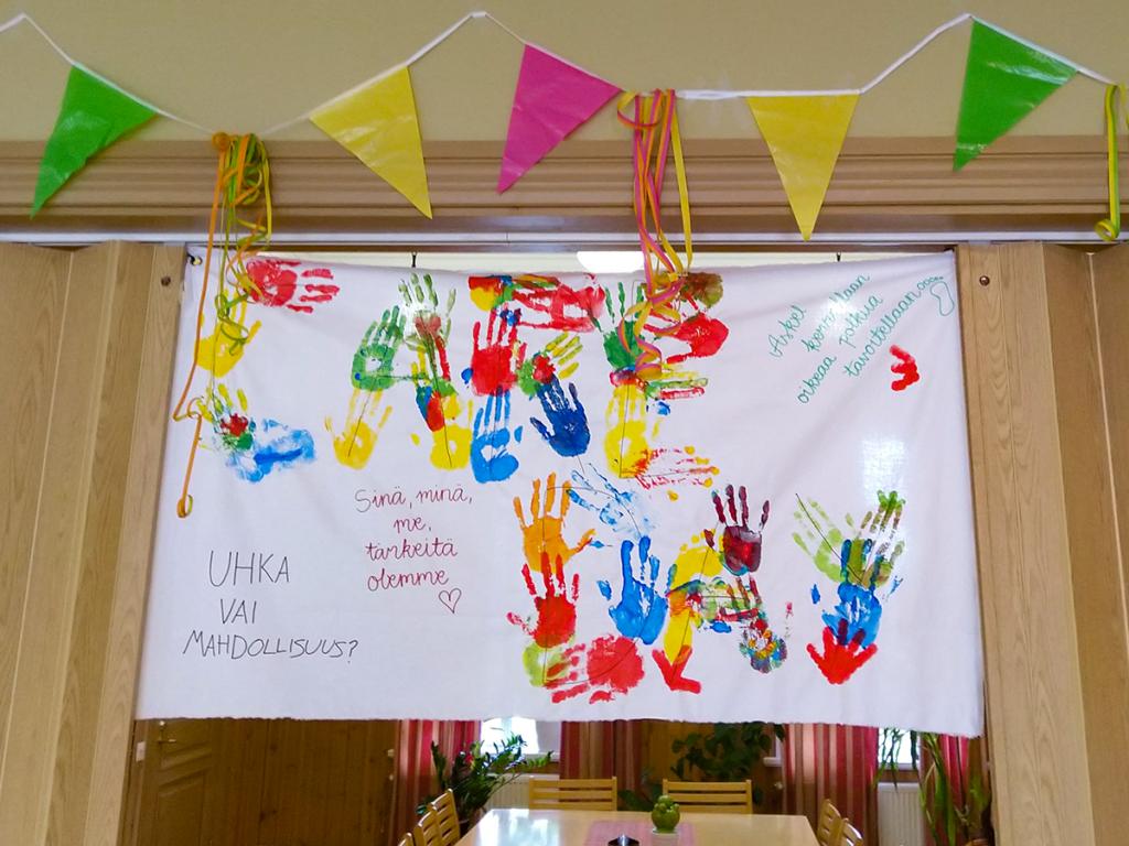 Valtion koulukotien ensimmäinen Care Day -päivä